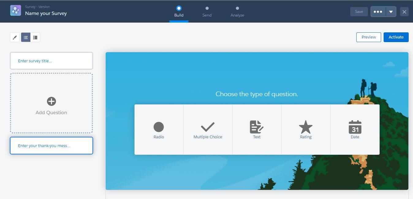Salesforce Spring ´18: Surveys