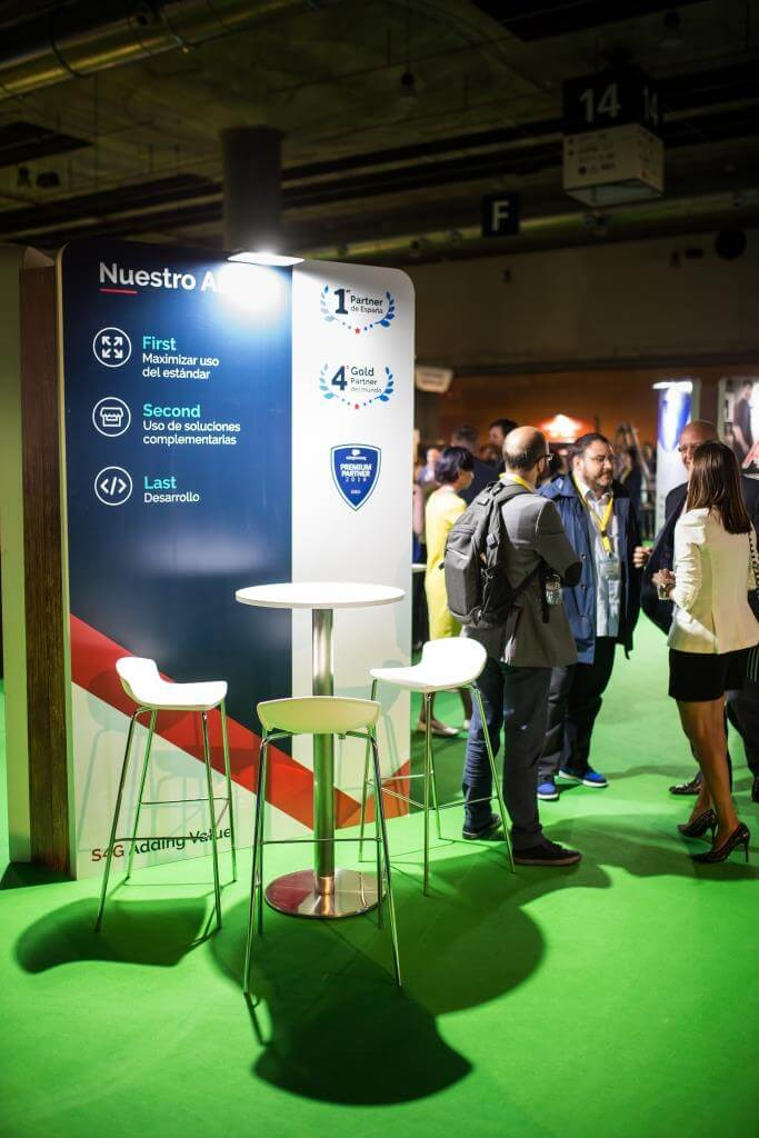 S4G stand at Basecamp 2018