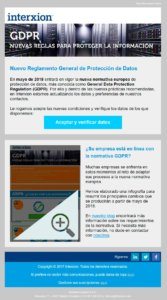 Marketing Automation gdrp