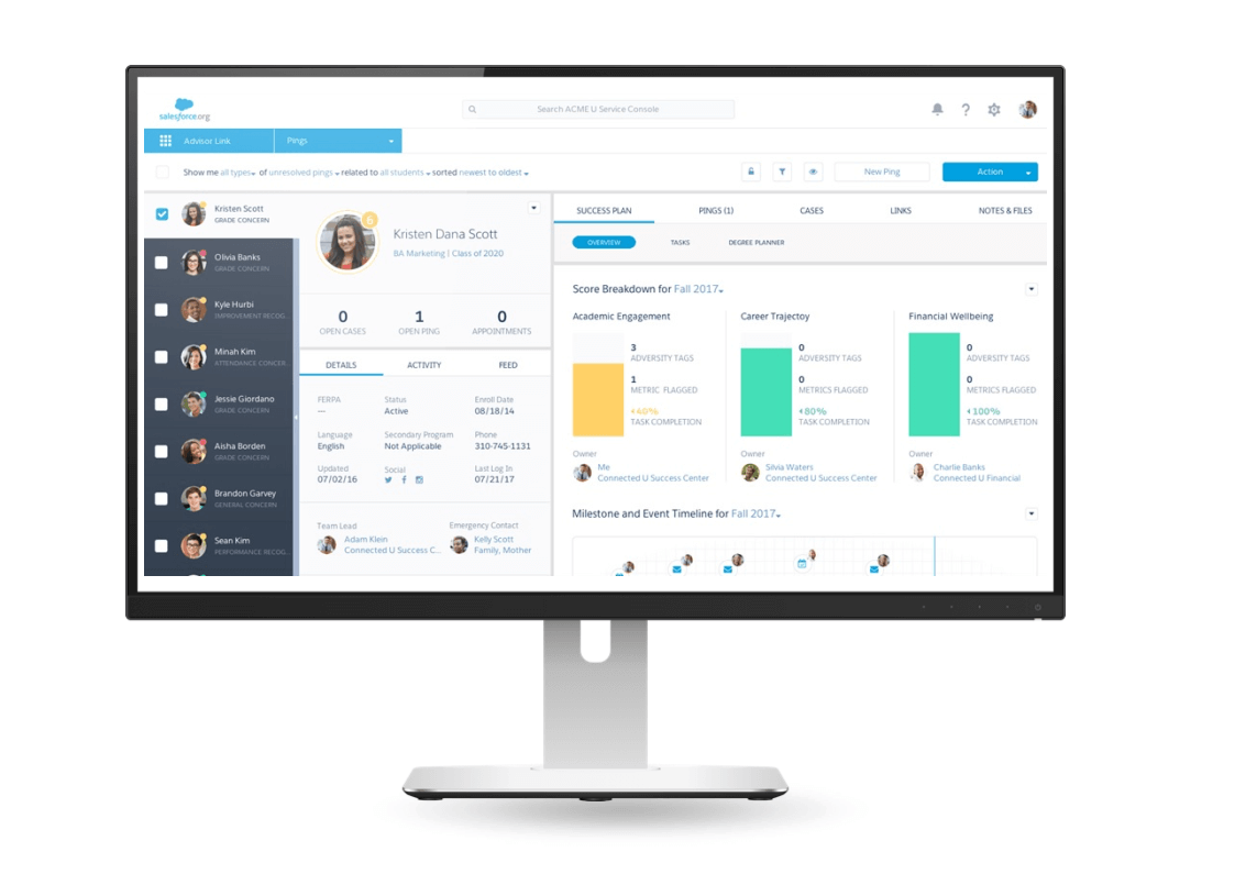 Salesforce Record and share information