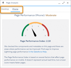 Novedades Salesforce Spring '21 Release. Medir el rendimiento de las páginas de registros