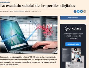 S4G y expansión escalada salarial de los perfiles digitales