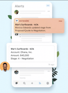 Salesforce Anywhere chat online