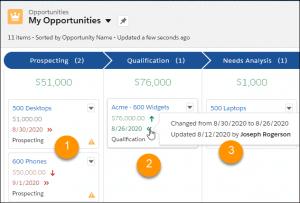 Salesforce winter release 2021 opportunities