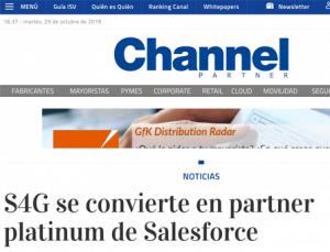 S4G channel partner platinum