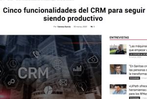 funcionalidades CRM S4G