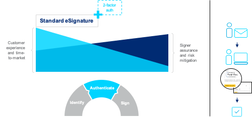 Docusign standard electronic signature